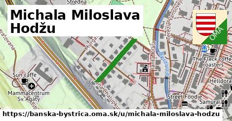 ilustrácia k Michala Miloslava Hodžu, Banská Bystrica - 180m