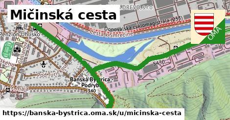 ilustračný obrázok k Mičinská cesta, Banská Bystrica
