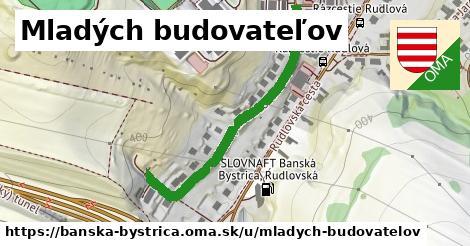 ilustrácia k Mladých budovateľov, Banská Bystrica - 421m