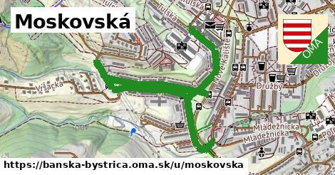 ilustračný obrázok k Moskovská, Banská Bystrica