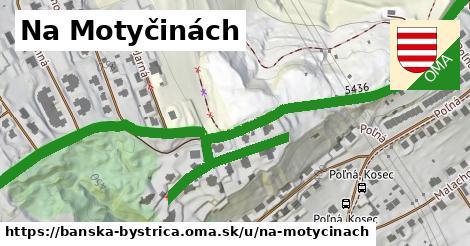 ilustračný obrázok k Na Motyčinách, Banská Bystrica
