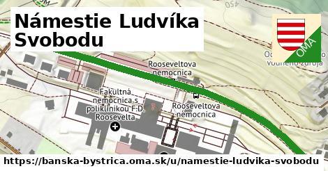 ilustračný obrázok k Námestie Ludvíka Svobodu, Banská Bystrica