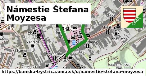 ilustračný obrázok k Námestie Štefana Moyzesa, Banská Bystrica