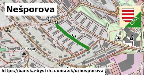 ilustrácia k Nešporova, Banská Bystrica - 209m