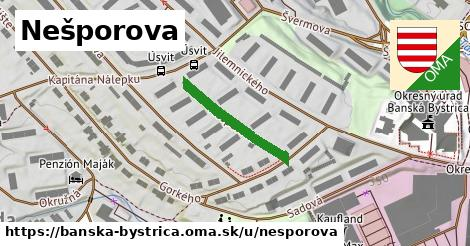 ilustračný obrázok k Nešporova, Banská Bystrica