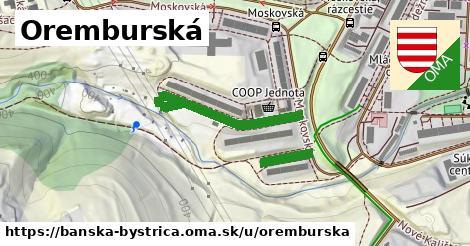 ilustračný obrázok k Oremburská, Banská Bystrica