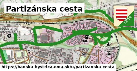 ilustrácia k Partizánska cesta, Banská Bystrica - 3,8km