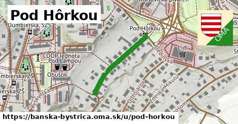 ilustračný obrázok k Pod Hôrkou, Banská Bystrica