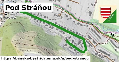 ilustračný obrázok k Pod Stráňou, Banská Bystrica
