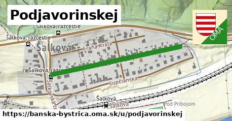ilustračný obrázok k Podjavorinskej, Banská Bystrica