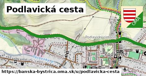 ilustračný obrázok k Podlavická cesta, Banská Bystrica