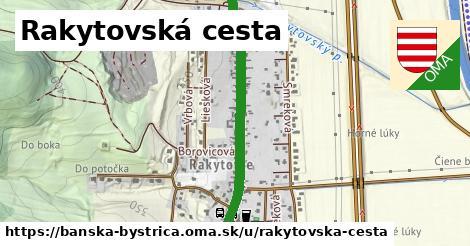 ilustrácia k Rakytovská cesta, Banská Bystrica - 1,29km