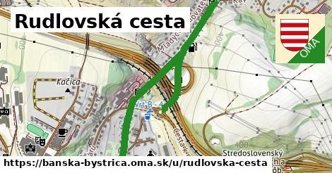 ilustračný obrázok k Rudlovská cesta, Banská Bystrica