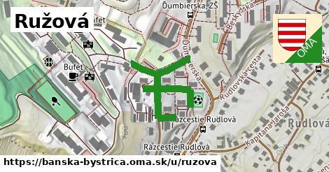ilustrácia k Ružová, Banská Bystrica - 366m