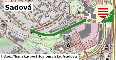 ilustračný obrázok k Sadová, Banská Bystrica