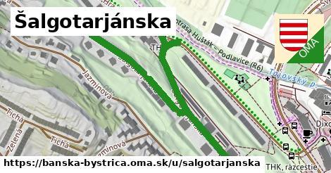 ilustračný obrázok k Šalgotarjánska, Banská Bystrica