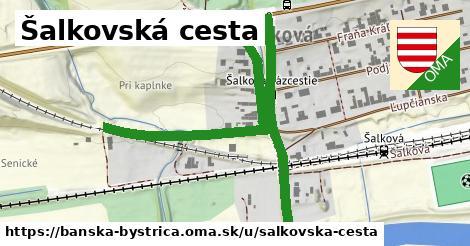 ilustračný obrázok k Šalkovská cesta, Banská Bystrica