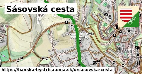 ilustrácia k Sásovská cesta, Banská Bystrica - 1,39km