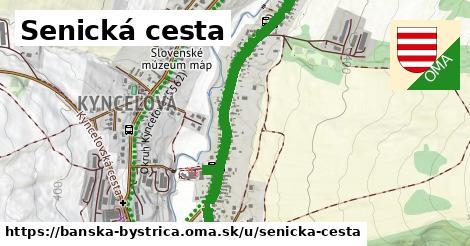 ilustrácia k Senická cesta, Banská Bystrica - 1,01km