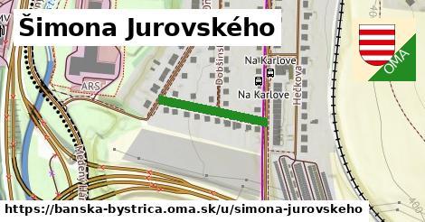 ilustračný obrázok k Šimona Jurovského, Banská Bystrica