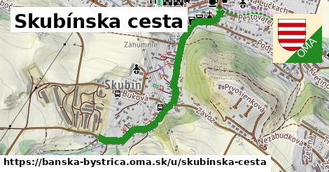 ilustrácia k Skubínska cesta, Banská Bystrica - 0,94km