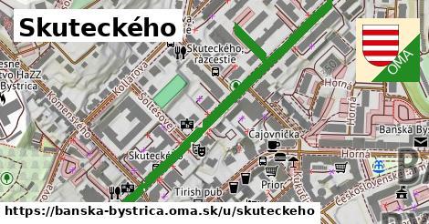 ilustračný obrázok k Skuteckého, Banská Bystrica