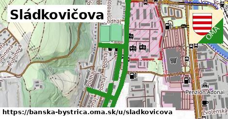 ilustračný obrázok k Sládkovičova, Banská Bystrica