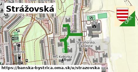 ilustračný obrázok k Strážovská, Banská Bystrica