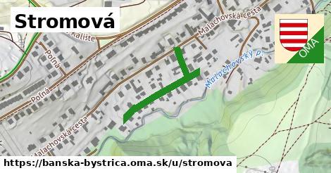 ilustračný obrázok k Stromová, Banská Bystrica
