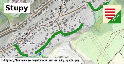 ilustračný obrázok k Stupy, Banská Bystrica