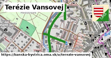 ilustračný obrázok k Terézie Vansovej, Banská Bystrica