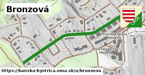 ilustrácia k Bronzová, Banská Bystrica - 363m