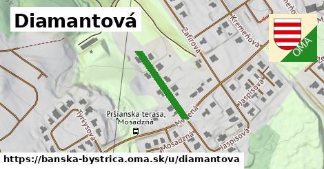 ilustrácia k Diamantová, Banská Bystrica - 168m