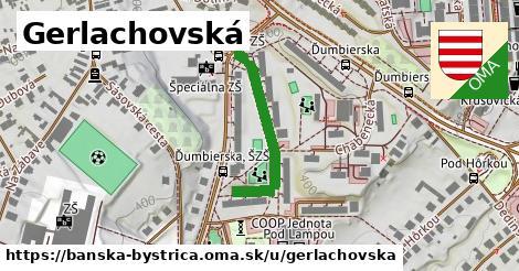 ilustrácia k Gerlachovská, Banská Bystrica - 274m