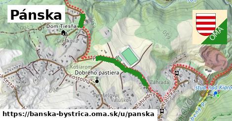 ilustrácia k Pánska, Banská Bystrica - 481m