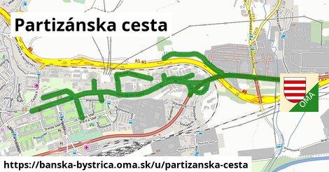 ilustrácia k Partizánska cesta, Banská Bystrica - 3,9km