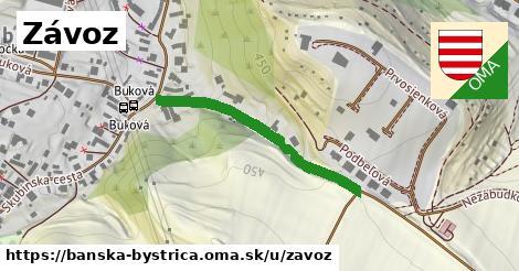 ilustrácia k Závoz, Banská Bystrica - 330m