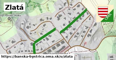 ilustrácia k Zlatá, Banská Bystrica - 468m
