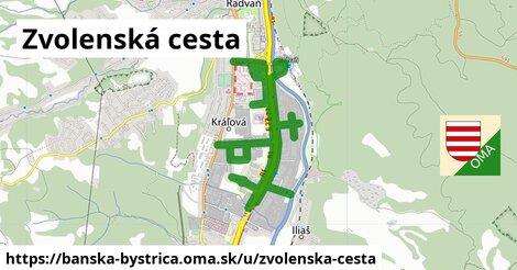 ilustrácia k Zvolenská cesta, Banská Bystrica - 3,6km