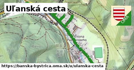 ilustračný obrázok k Uľanská cesta, Banská Bystrica