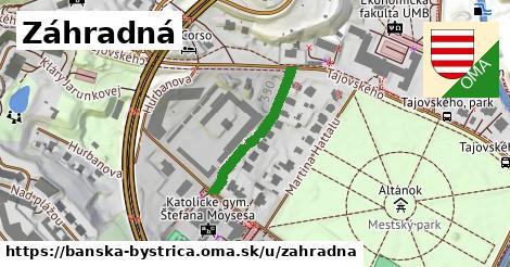 ilustrácia k Záhradná, Banská Bystrica - 220m
