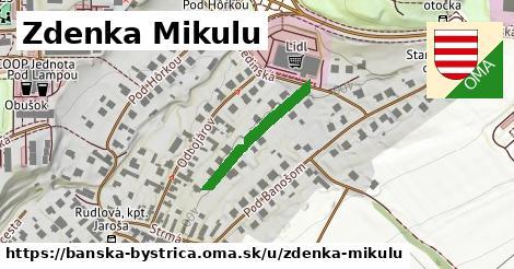 ilustračný obrázok k Zdenka Mikulu, Banská Bystrica