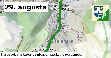 ilustrácia k 29. augusta, Banská Štiavnica - 387m