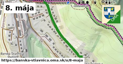 ilustračný obrázok k 8. mája, Banská Štiavnica