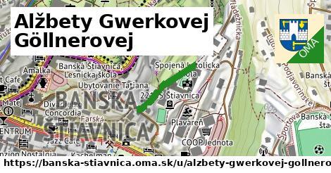 ilustračný obrázok k Alžbety Gwerkovej Göllnerovej, Banská Štiavnica