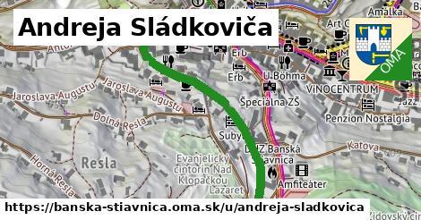 ilustračný obrázok k Andreja Sládkoviča, Banská Štiavnica