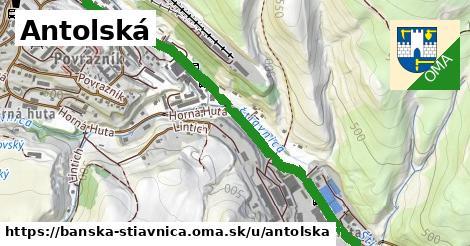 ilustračný obrázok k Antolská, Banská Štiavnica