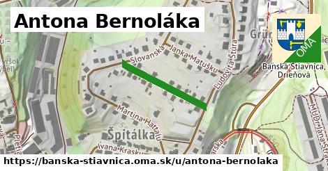ilustrácia k Antona Bernoláka, Banská Štiavnica - 218m