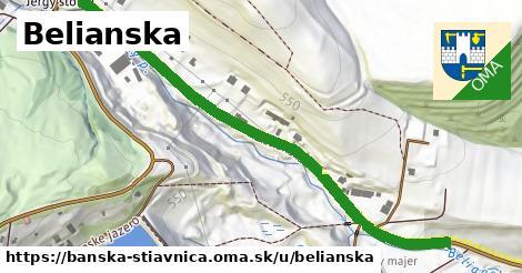 ilustrácia k Belianska, Banská Štiavnica - 656m