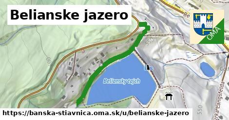 ilustračný obrázok k Belianske jazero, Banská Štiavnica